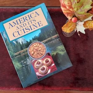 """America And Its Cuisine"" Coffee Table Cookbook"